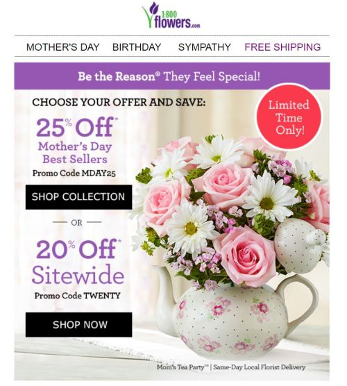 Mother's Day Marketing Ideas - Promotional Offers