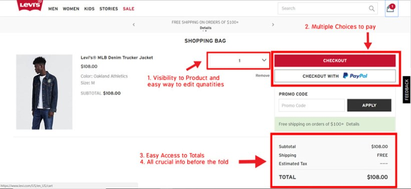 optimize-cart-page-levis