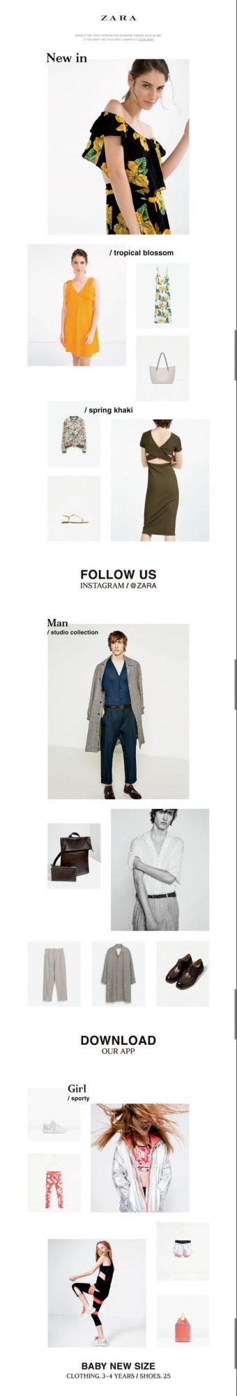 Zara ecommerce