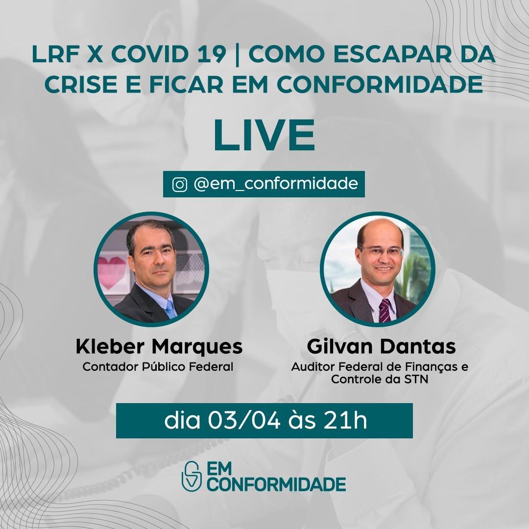 LIVE | LRF x COVID 19 – Como escapar da crise e ficar Em Conformidade