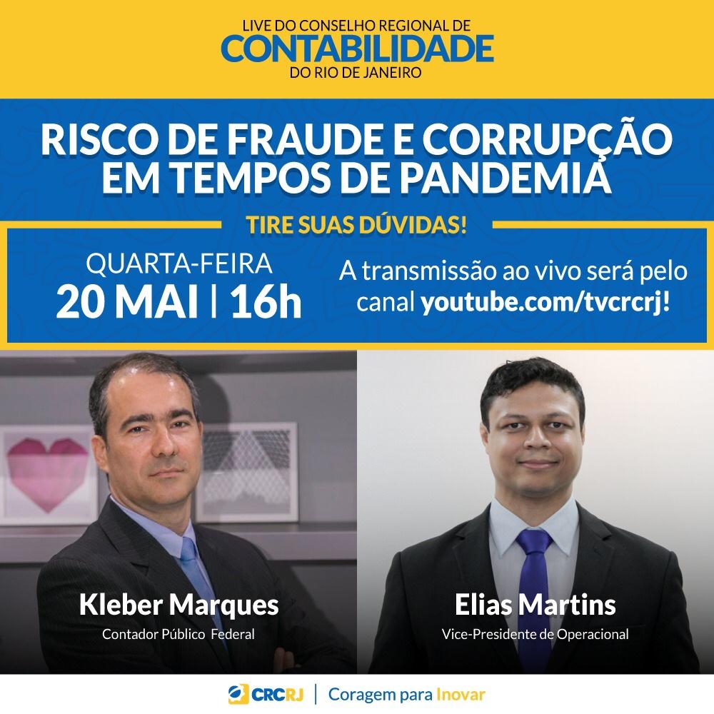 LIVE | Risco de Fraude e Corrupção em Tempos de Pandemia.