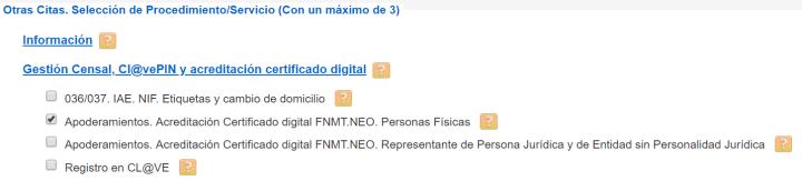 Pedir cita previa en la Agencia Tributaria para acreditación Certificado Digital Personas Físicas