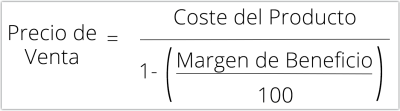 Cómo calcular el precio de venta