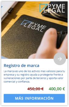 Marketplace: Servicios de registro de marca de PymeLegal.