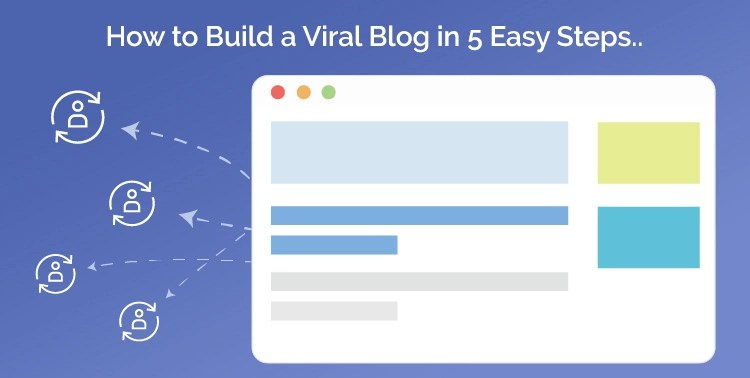 how to build a viral blog in 5 easy steps