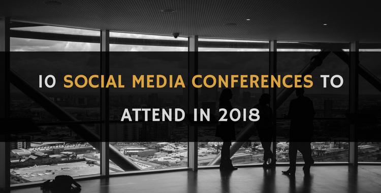 social media conferences 2018