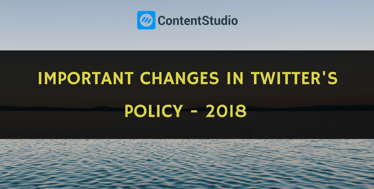 Twitter Policy Changes Regarding Automation and Evergreen Content Recycling 2018