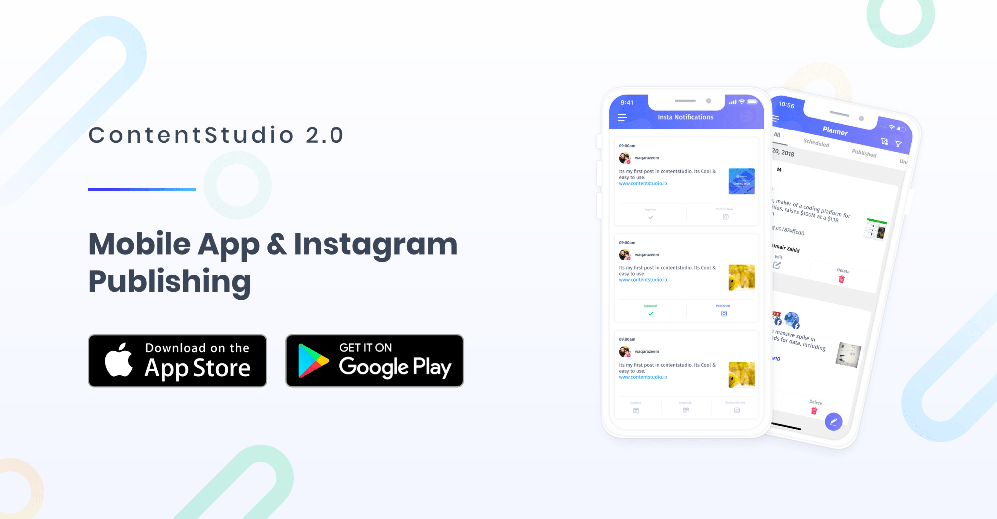 Instagram posting - ContentStudio