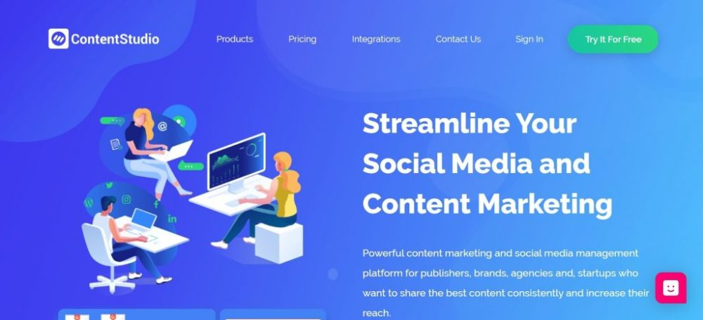 social media management - ContentStudio