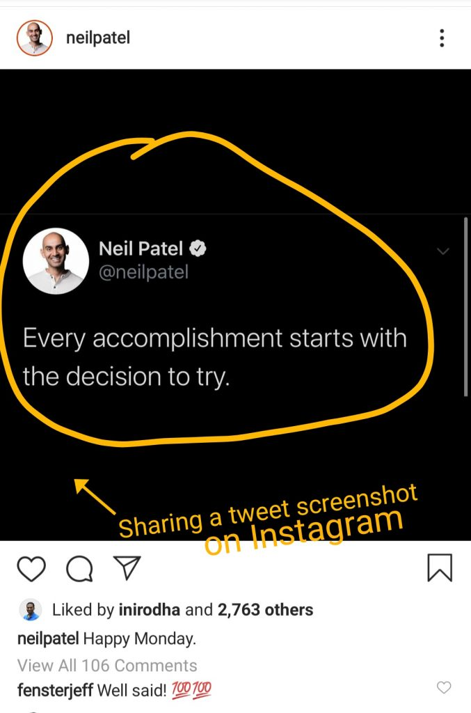 Neil Patel on Instagram