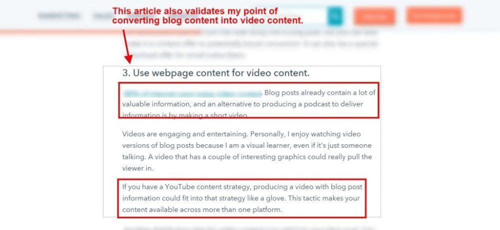 video violation