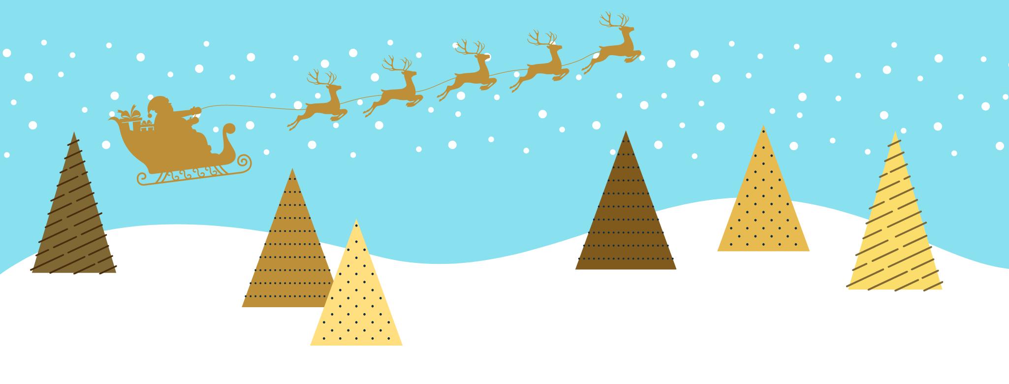 La slitta d'oro di Babbo Natale