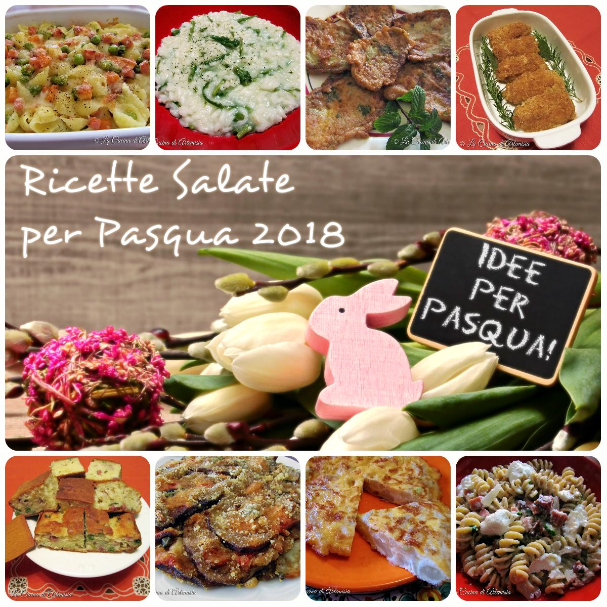 Idee Salate per Pasqua 2018