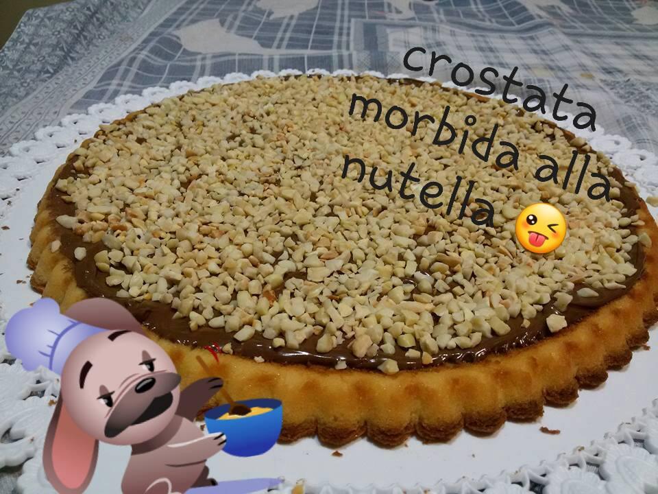 CROSTATA MORBIDA CON NUTELLA E NOCCIOLE
