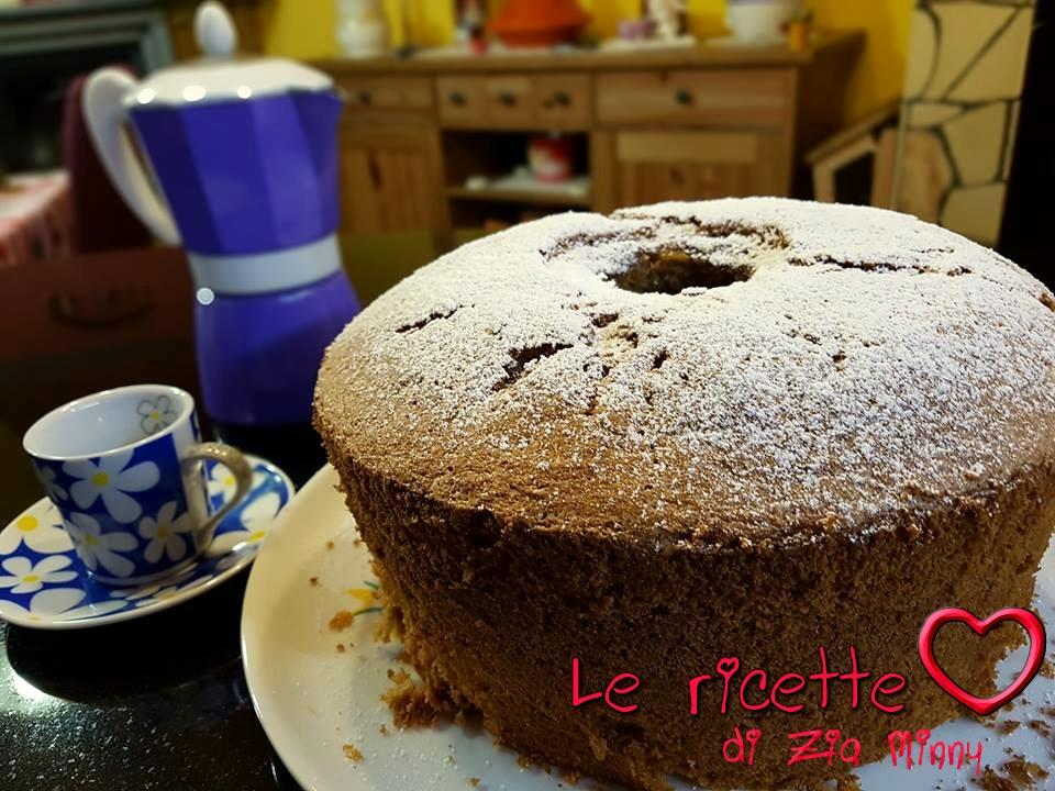 MOKA CHIFFON CAKE BIMBY
