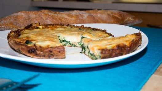 Receta de Omelette de espinacas con mozarella de ChiaChio