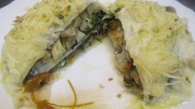 Receta de lasaña de verdura con Kale