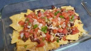 Receta de Nachos Mexicanos