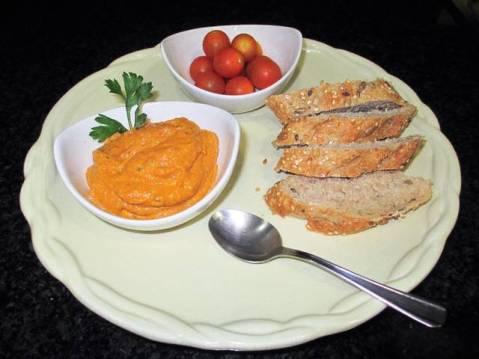 Receta de Crema de verduras con pan de Jorgette