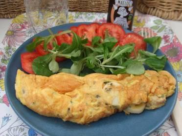 Receta de tortilla francesa de Cucqui