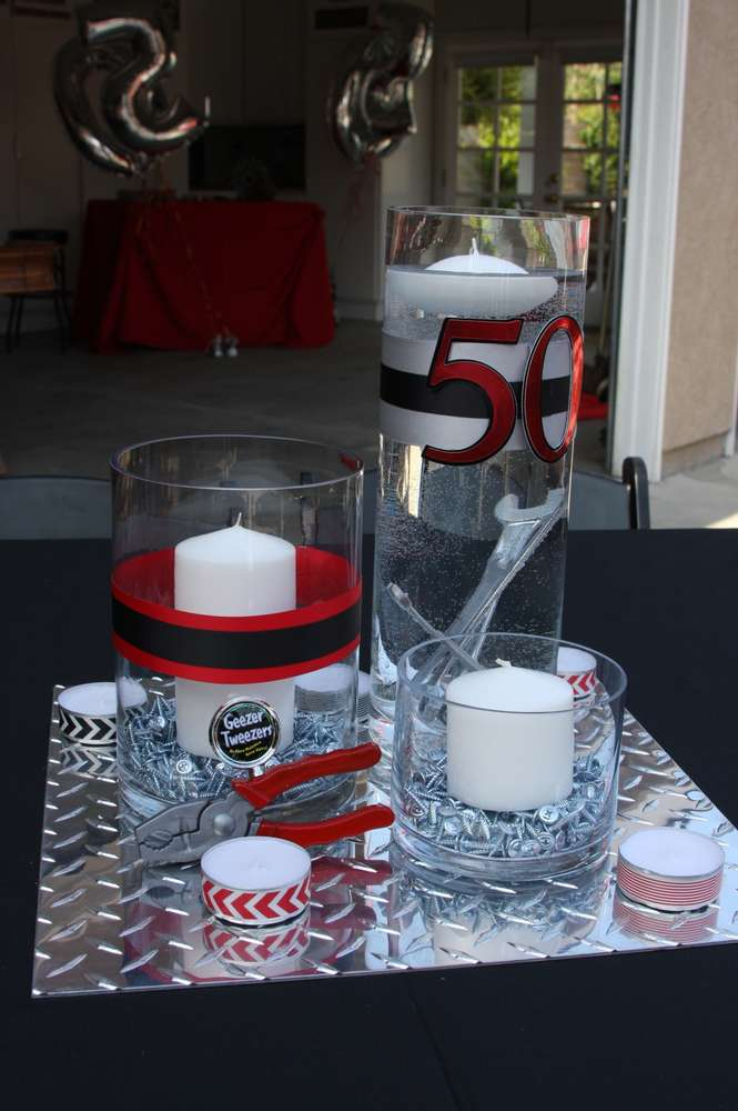 Decorations for a man s th birthday party