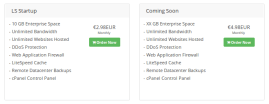 litespeed enerprise webserver hosting