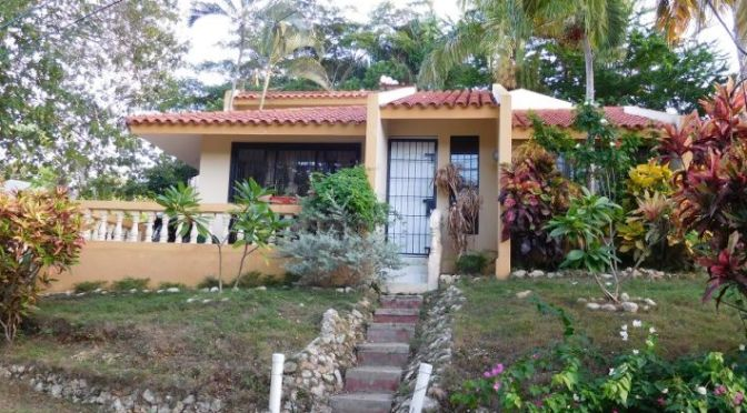 Lovely 3 bedroom Sosua villa for sale $US69,000