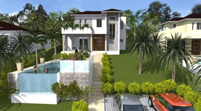 New project in Cabarete … near surf beach …