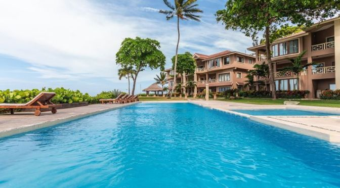 Beachfront condo in Cabarete …