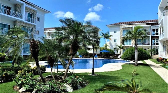 Luxury condo center of Sosua