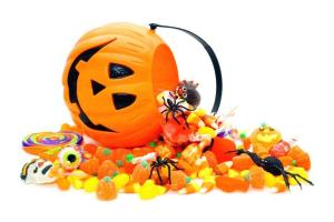 Sweets are bad for your teeth this Halloween