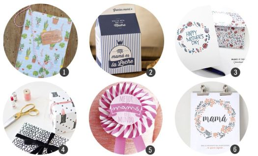18 imprimibles gratis para el Día de la Madre