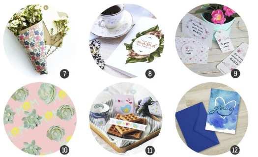 18 imprimibles para el Día de la madre en www.cosasmolonas.com