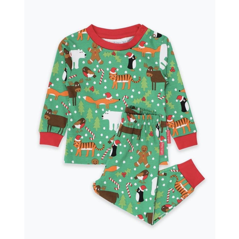 Christmas Print Pyjamas | Cotswold Baby Co
