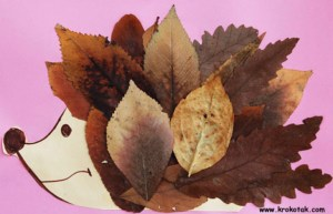 Autumn_Leaf_Hedgehog_6 Fun Autumn Activities that Toddlers and Kids will Love _Cotswold_Baby_Co