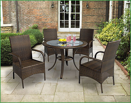 cottage style outdoor patio furniture Outdoor Furniture for All – Teak, Wicker and Adirondack