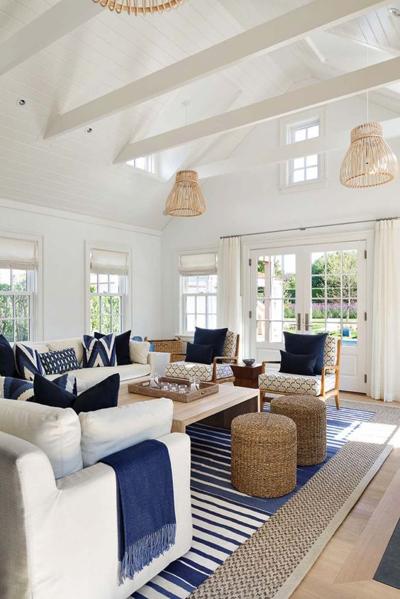 5 Must Haves For Your Nantucket Style Living Room
