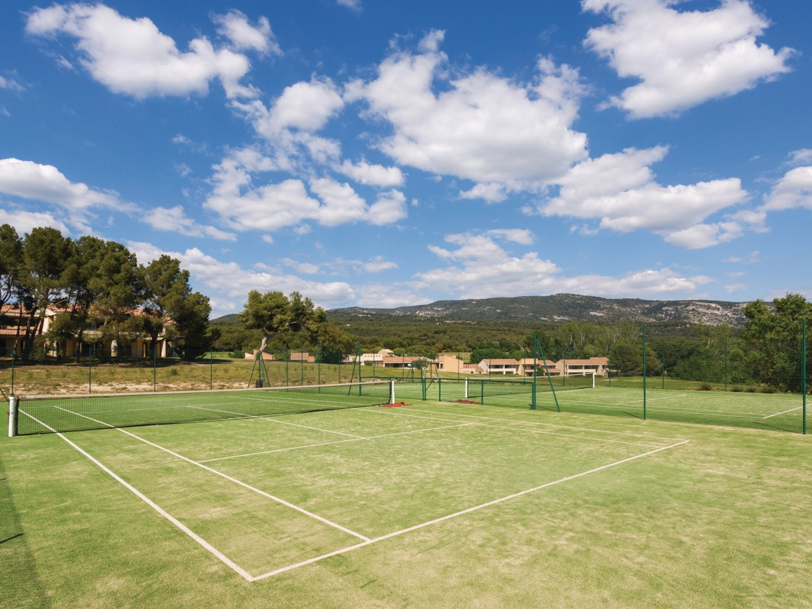french tennis court