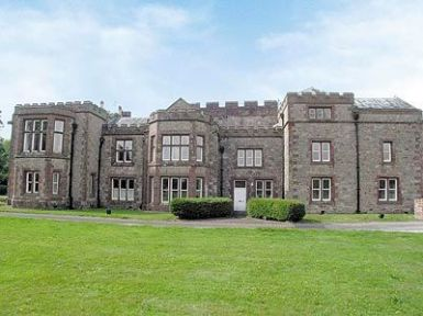 Irton Hall - Pele Tower, Irton, Eskdale. Ref. 25366. Irton Hall is a stunning holiday location with impressive history, set in the foothills of the Western fells of the Lake District between Wasdale and Eskdale. http://bit.ly/MbjDCk.
