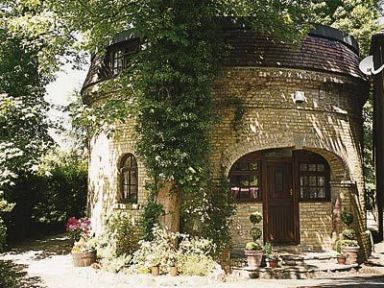 The Water Tower, Bearsted. Ref. 13684. Sympathetically converted to provide quality holiday accommodation with unique circular rooms, this spacious former water tower once served the supply for the village. http://bit.ly/1evxVEO.