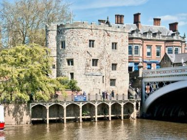 Lendal Tower, York. Step into a piece of medieval history. With panoramic views over the beautiful city of York and the River Ouse, this spectacular 700-year old Ancient Scheduled Monument offers a truly unique holiday experience. http://bit.ly/1f8XOgZ.