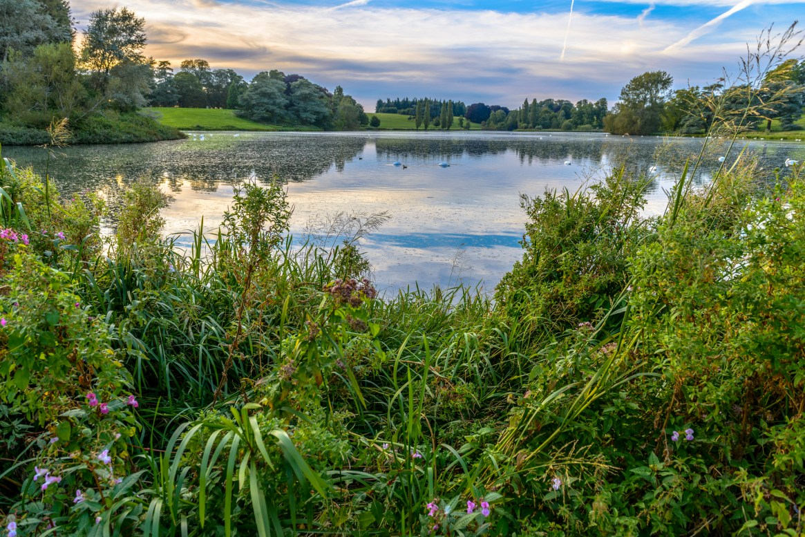 Walk off your lunch in the grounds of Blenheim Palace