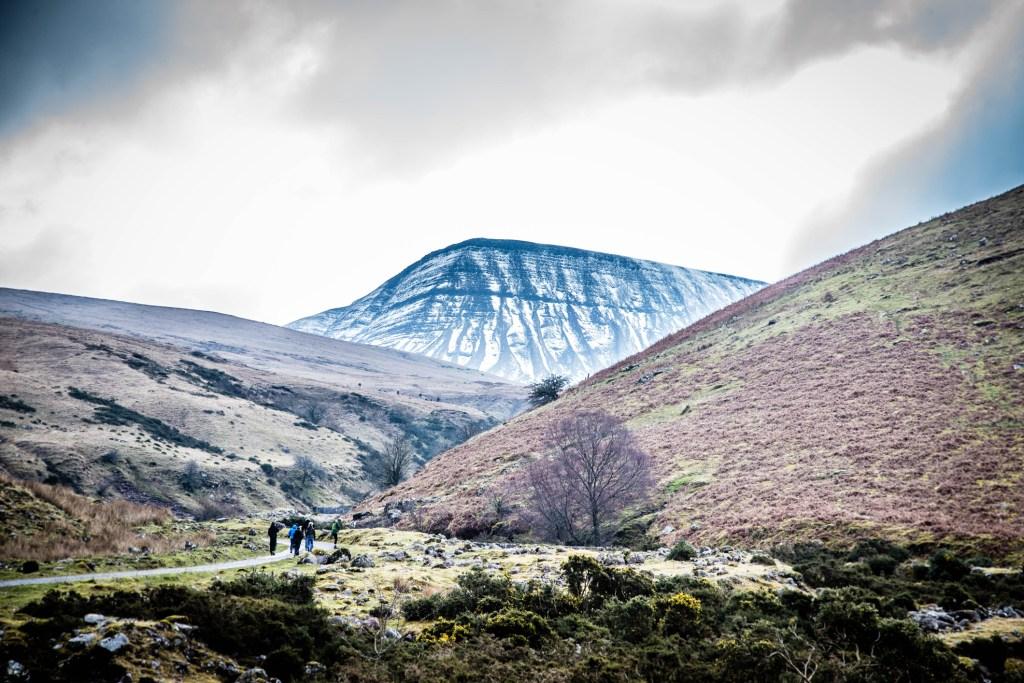 Winter walking in Wales