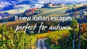 Italian holidays autumn