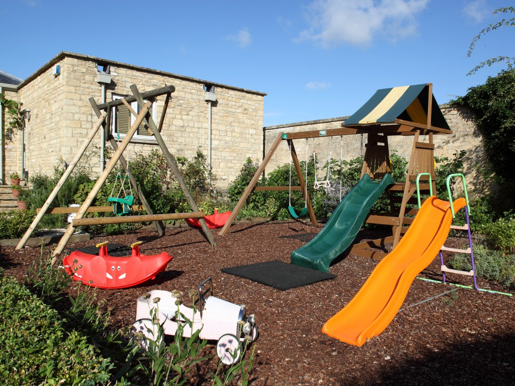 Play area holiday home owners