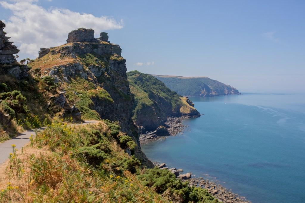 The Valley of the Rocks, Lymington, Devon