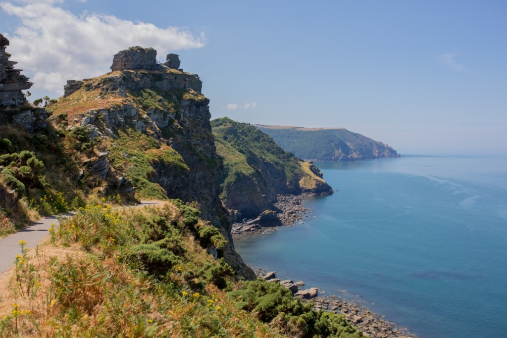 The Valley of the Rocks, Lymington, Devon