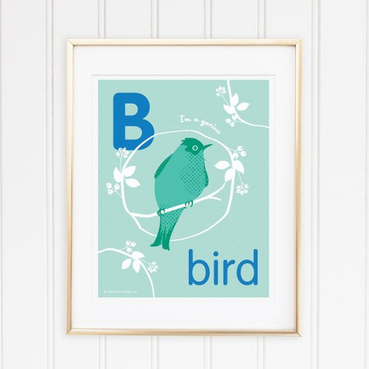Genius Series Art Print - Letter B
