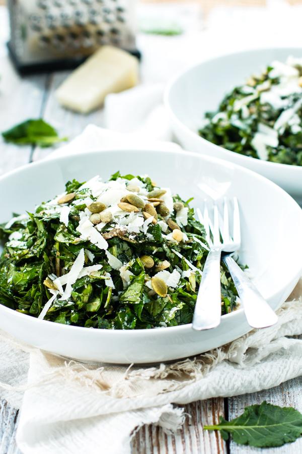 Chopped Mixed Greens Salad