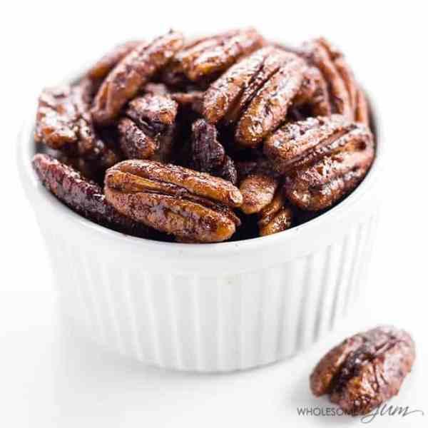 Sugar-free Candied Pecans